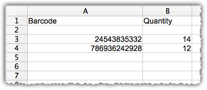 how to create inventory in excel