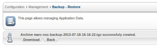 Sangoma SBC Backup File