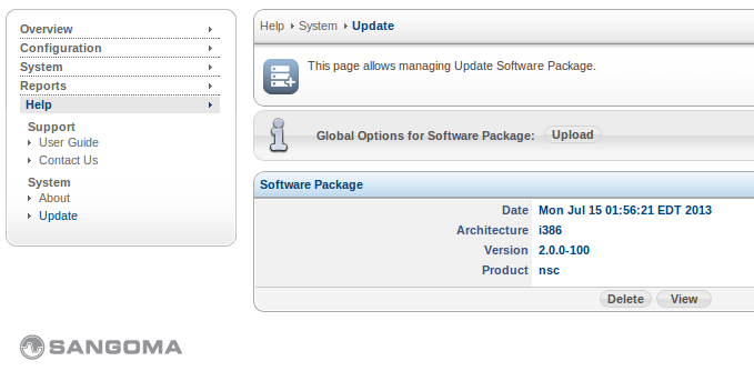 Sangoma SBC Upgrade Remove Pkg