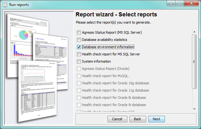 Generate Reports - dbWatch - 12.1