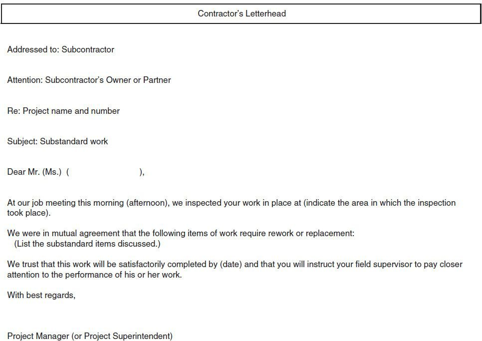 18 Business Development Approach and Project Participation – Subcontractor Contract Template