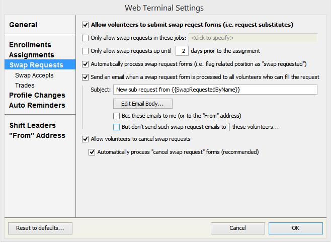 Web terminal