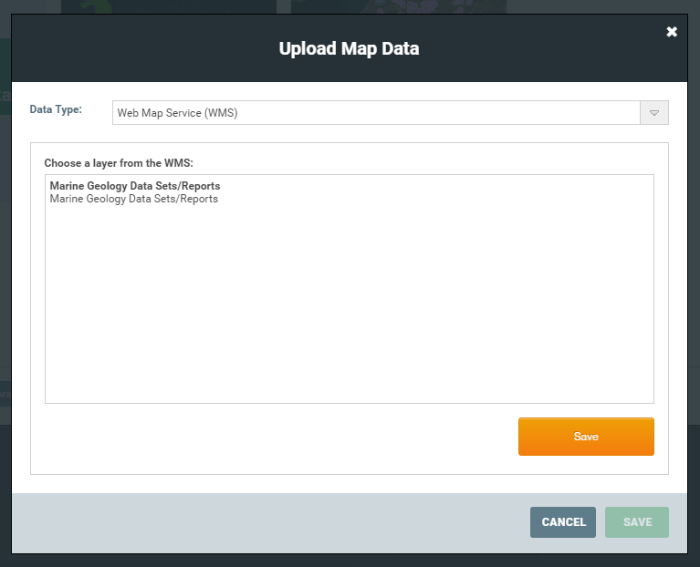 Adding a Web Map Service WMS Documentation Mango – Map Service