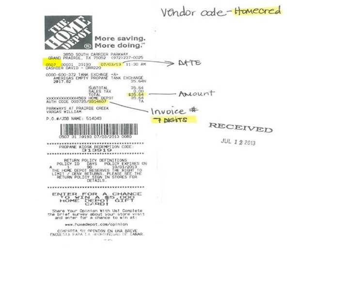 Bill Invoice Template Word Home Depot Credit  Policy And Procedures Manual   Digital Invoices Excel with Walmart Receipt Cash Back Word You Can Also Locate The Store Number On The Corresponding Invoice With The  Statement That Comes To Your Property It Is Located On The Invoice Under  The  Rent Receipts Templates Pdf