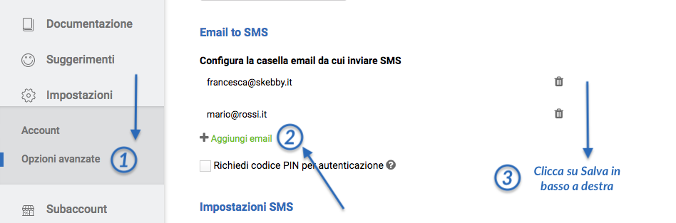 email-to-sms-aggiungere-indirizzi-email