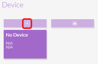 Add New Device Button