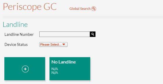 Landlines Page