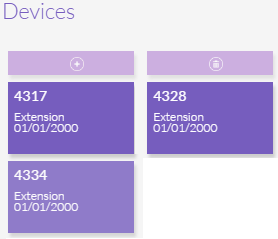 Devices Assigned a Line Item