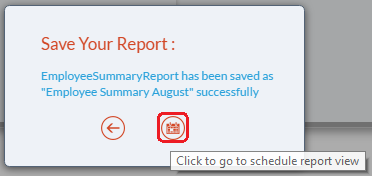 Go to Schedule Reports button
