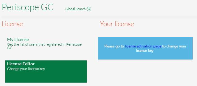 License Editor