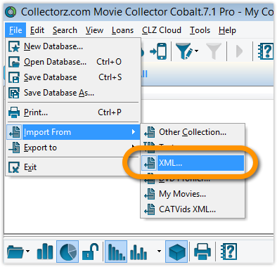 macOS to Windows - Movie Collector for Windows - V19