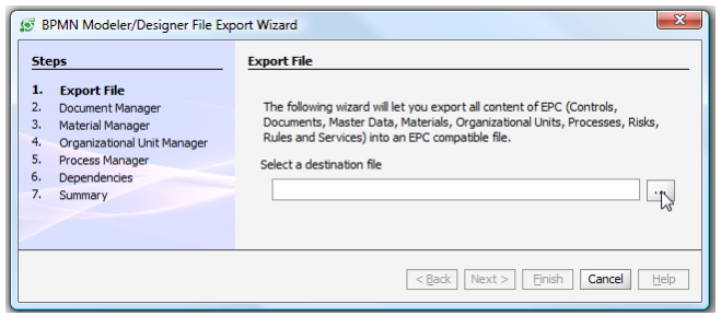 Export to CSV - EPC - Modeler Manual - 10 0
