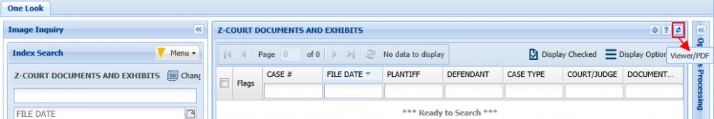 Help & Settings - One Look (IBM i / Cloud) - 2