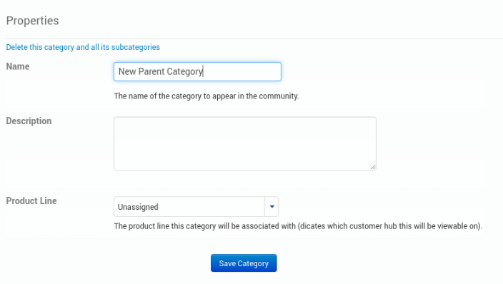 Community Settings - Customer Support Software