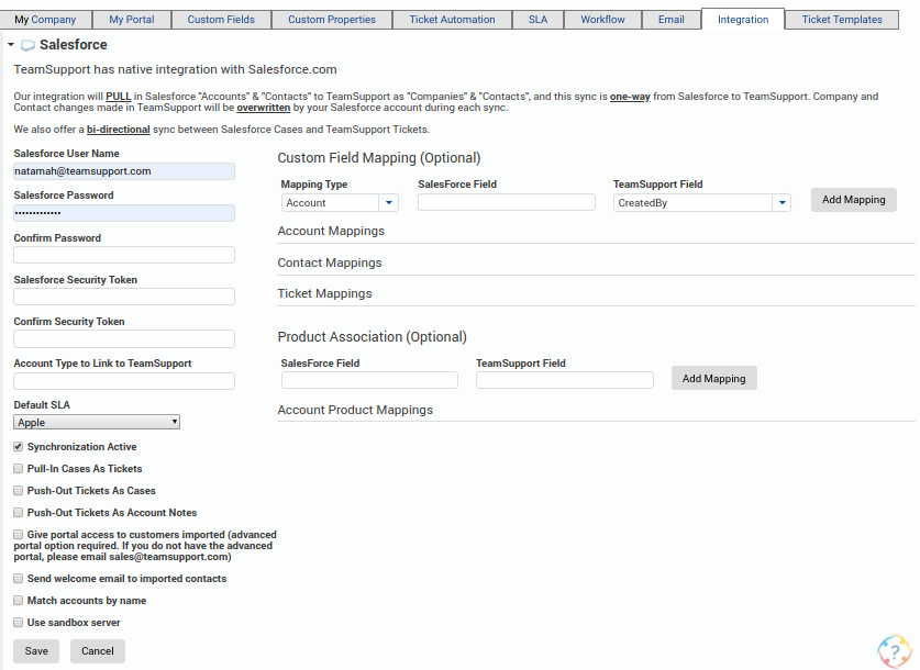 Salesforce - Customer Support Software Documentation - 1