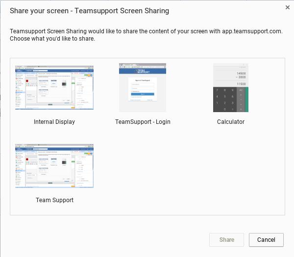 screen recording customer support software documentation 1