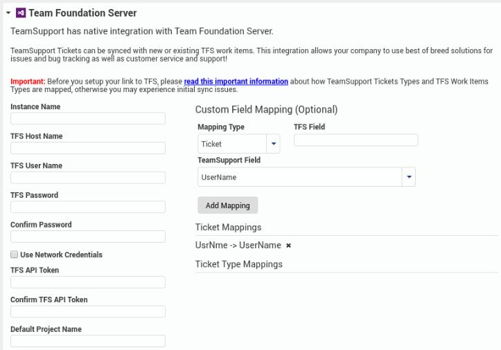 Team Foundation Server (TFS) - Customer Support Software
