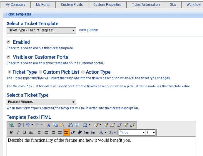 Ticket Templates Customer Support Software Documentation - Software documentation template