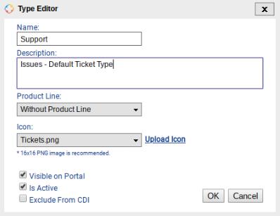 Ticket Types - Customer Support Software Documentation - 1