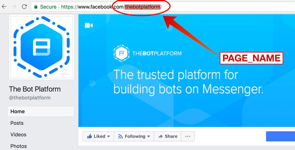 Link directly to your bot - The Bot Platform - 1