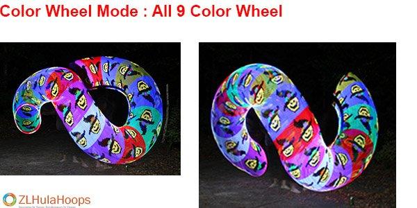 Pattern 9 Color Wheels Result