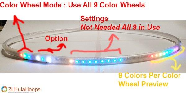 9 Color wheels