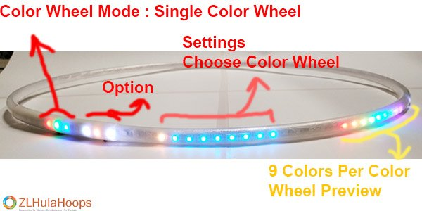 Color Wheel Single Selected