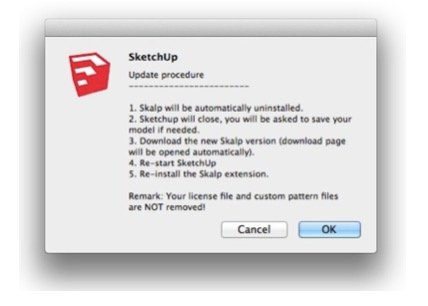 Updating to a new Skalp version - Skalp for SketchUp - 1 x