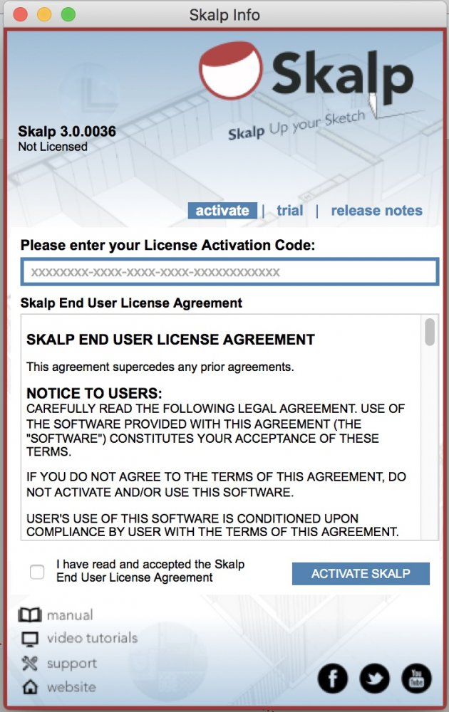 license and activation key for action