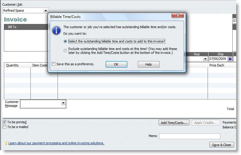 Exporting Time to QuickBooks - TimeLive Help - 1