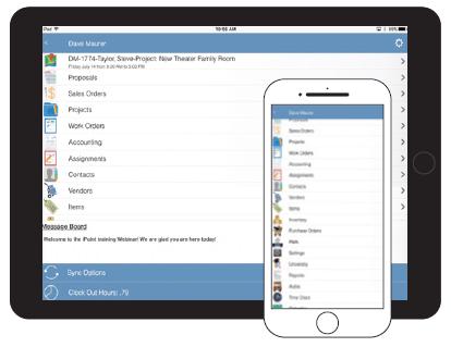 iPoint on iOS