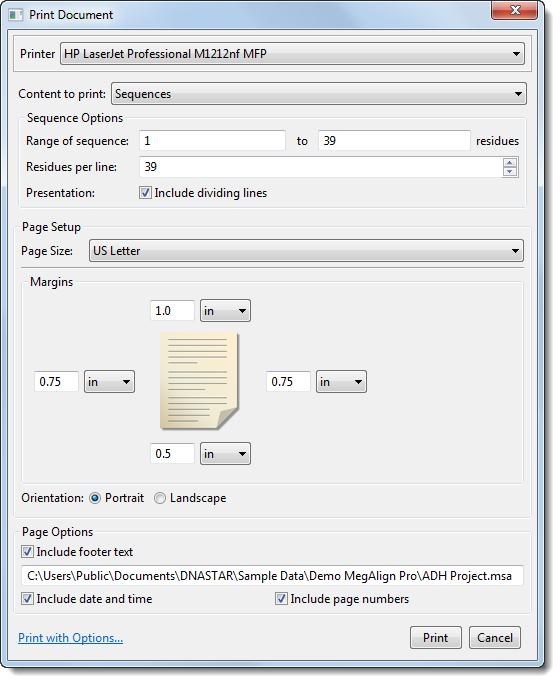 Print Images - User Guide to MegAlign Pro - 15 2
