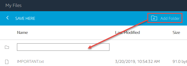 Create a folder in the cloud - Getting Started with the Lasergene