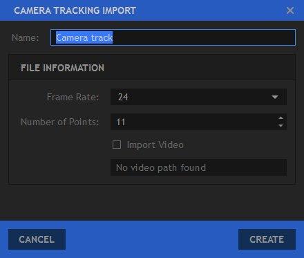 Importing 3D Camera Tracking Data - HitFilm Pro - 7