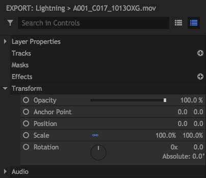 Introducing the controls panel hitfilm pro 7 ccuart Images