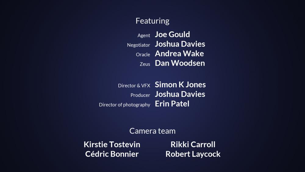 end credits crawl - hitfilm - 2021  manula.com