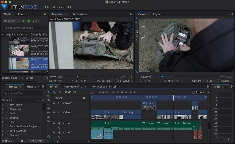 Editing - HitFilm - 2021