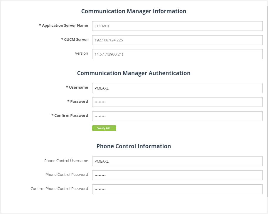 4 1 2 CUCM Integration - Akkadian Provisioning Manager