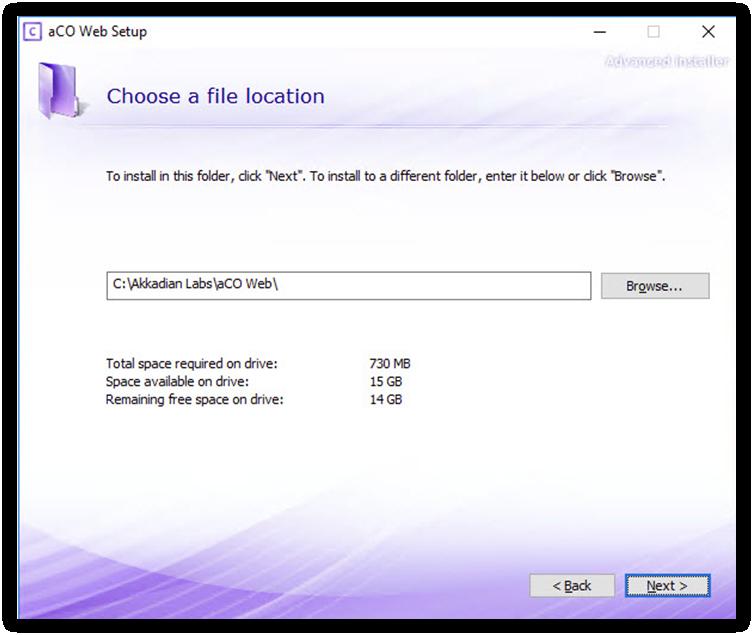 4  Installing Console Server - Akkadian Console Server - 3 2 0