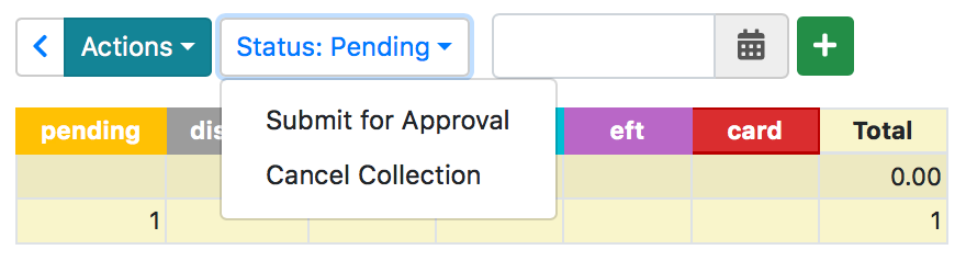Submit for Approval menu