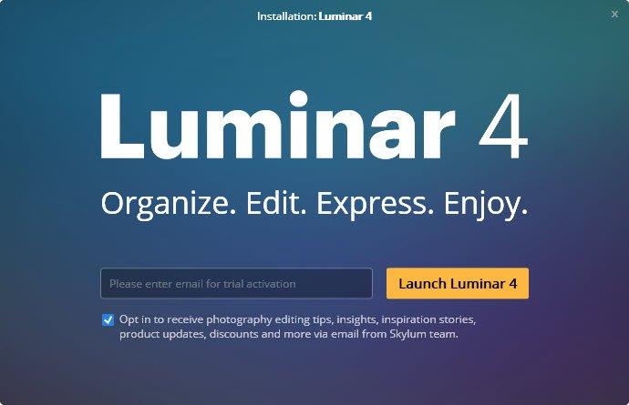 Luminar 4 trial