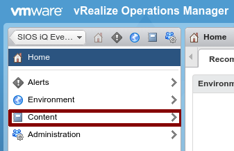 vRealize Integration - SIOS iQ - 3 16 0