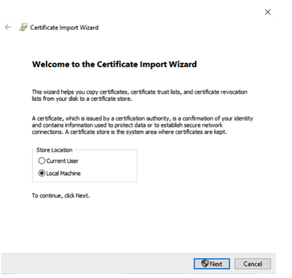 How to install Gravio server Root CA certificates  - Gravio