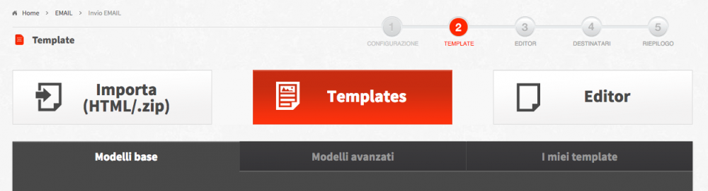 template email html