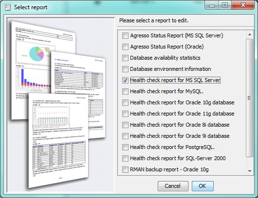 Edit Report Templates - dbWatch - 12.2