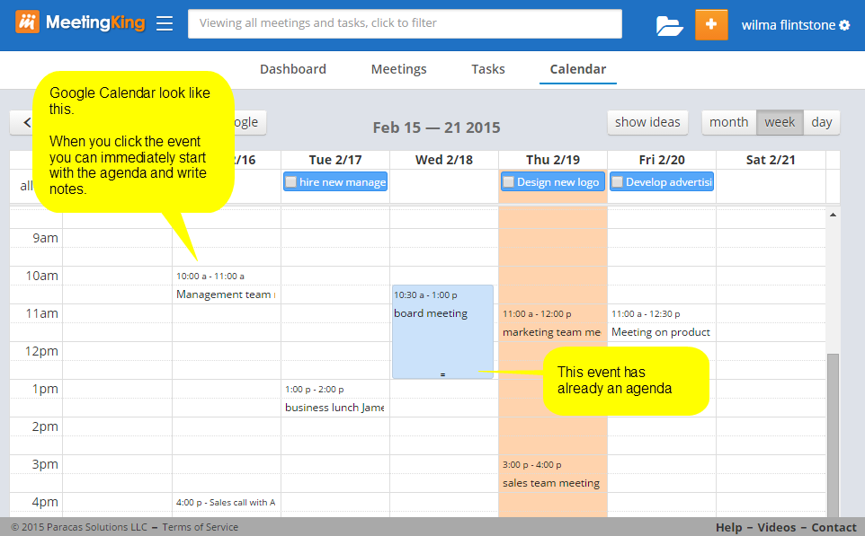 Connecting Google Calendar To Meetingking Pro Meetingking 2