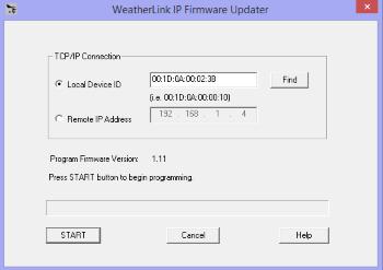 Understanding local WeatherlinkIP configuration - Davis Weather