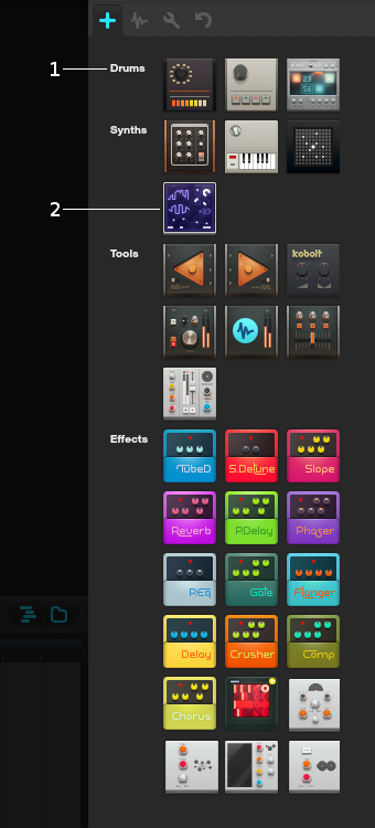 Device library