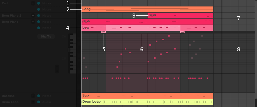 Sequencer view