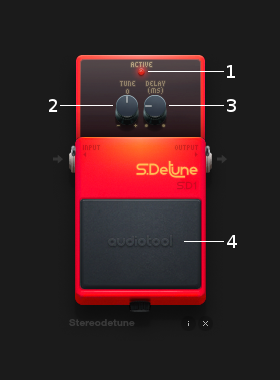 Stereodetune controls
